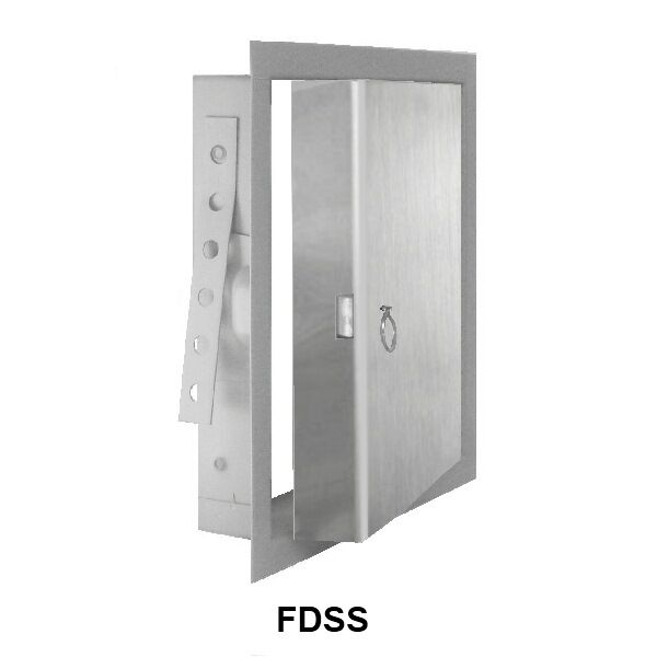 Fire Rated Access Doors : Jl industries stainless steel fd insulated fire rated