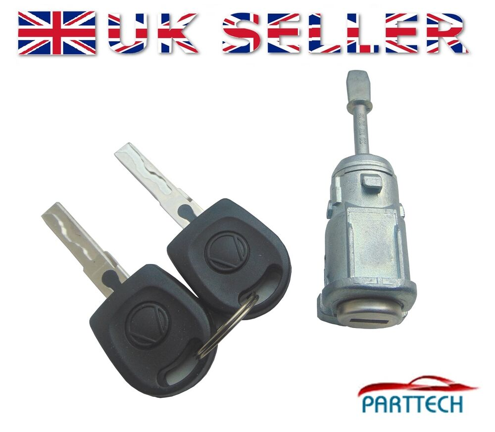Vw Mk4 Golf Bora Polo 9n Fox Complete Door Lock Set With 2