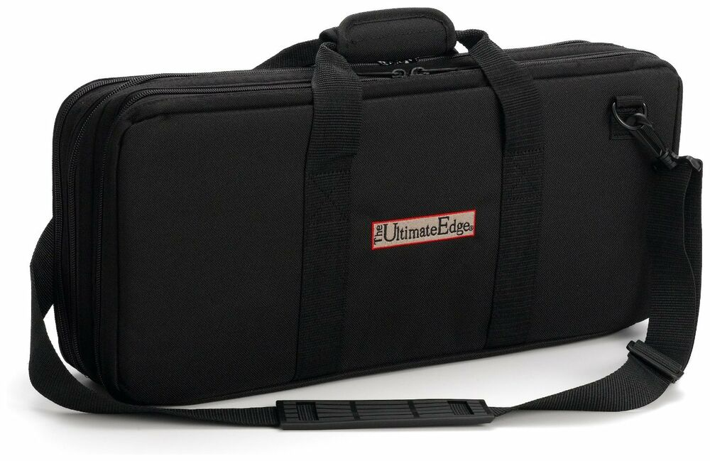knife case chef chefs padded carry bag blade cutlery pocket storage bestdealer ebay. Black Bedroom Furniture Sets. Home Design Ideas