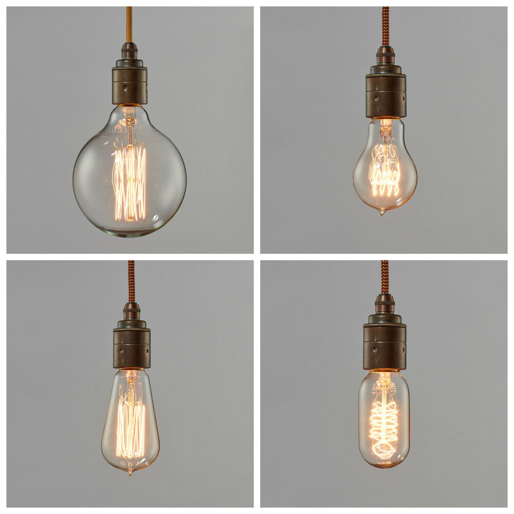 Filament Light Bulb Vintage Style Edison Decorative