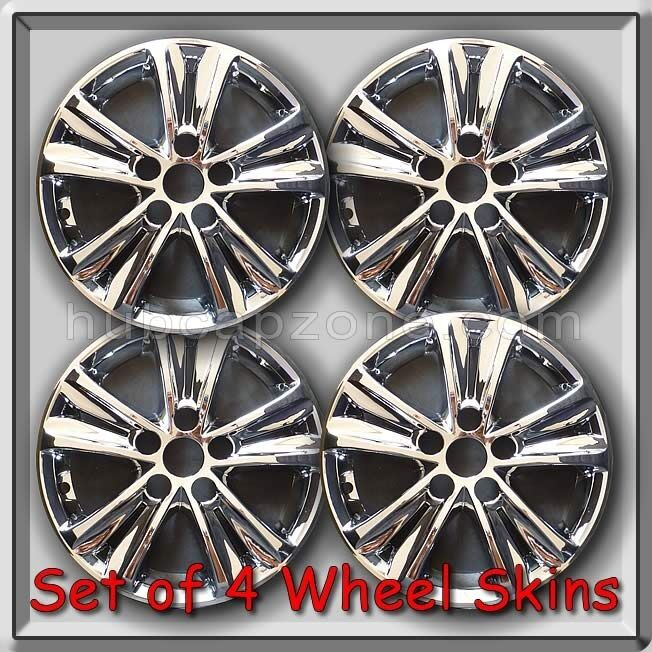 4 Chrome 16 Quot Wheel Skins Fits 2011 2014 Hyundai Sonata
