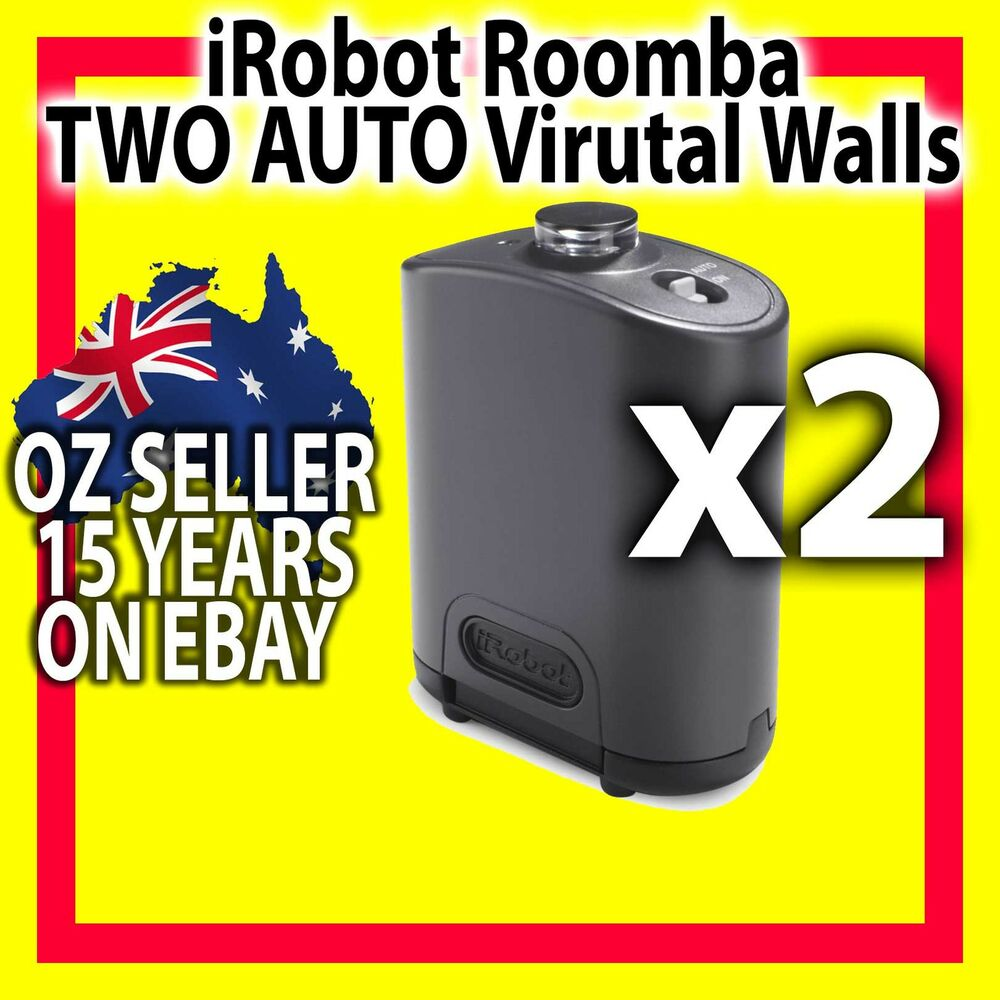 2 x irobot roomba auto virtual wall for 620 630 650 760. Black Bedroom Furniture Sets. Home Design Ideas