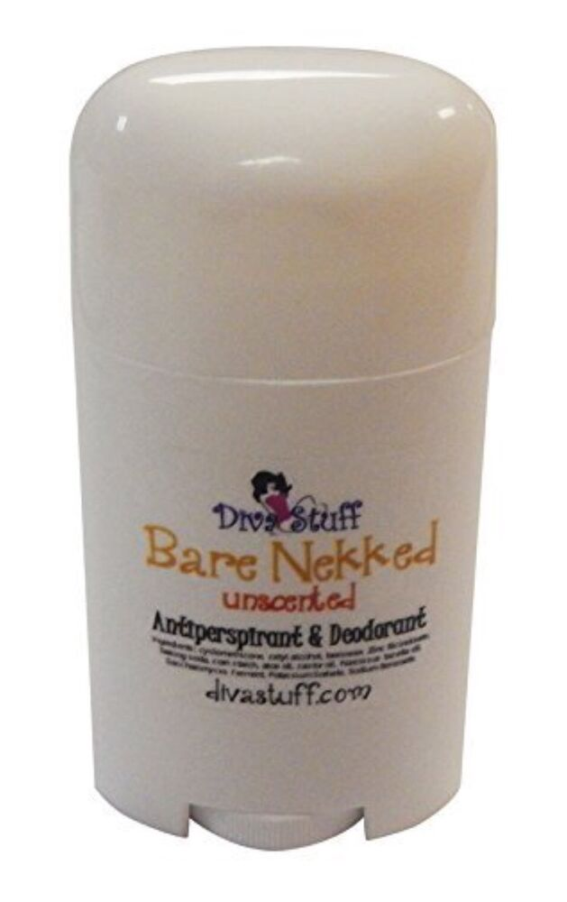 bare nekkid unscented aluminum free antiperspirant deodorant by diva stuff ebay. Black Bedroom Furniture Sets. Home Design Ideas