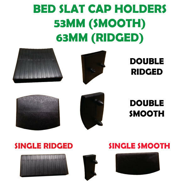 Replacement plastic slat holders slat caps for single for Where to buy a matress