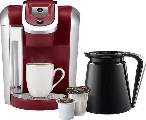 Keurig 2.0 K450 K-Cup Machine & K-Carafe Coffee Maker Brewer RED BRAND NEW eBay