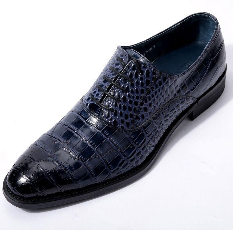 Red Crocodile Shoes Mens