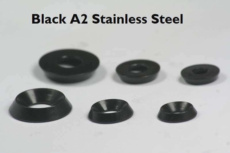 A2 Black Stainless Steel Solid Machine Turned Finishing