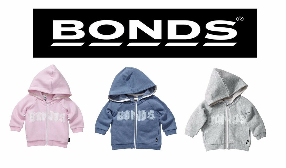 a4357da80 NEW GIRLS BOYS BABY UNISEX KIDS BONDS SIGNATURE HOODIE FLUFFY FLEECE ...