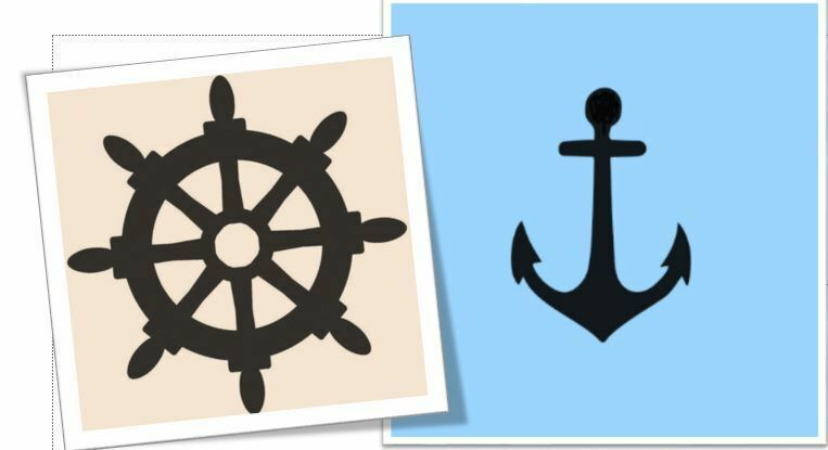 Current image for printable anchor stencil