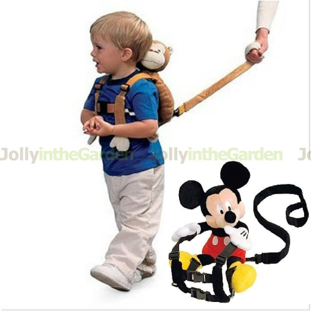 Baby Kid Toddler Walking Safety Harness Strap Cosplay