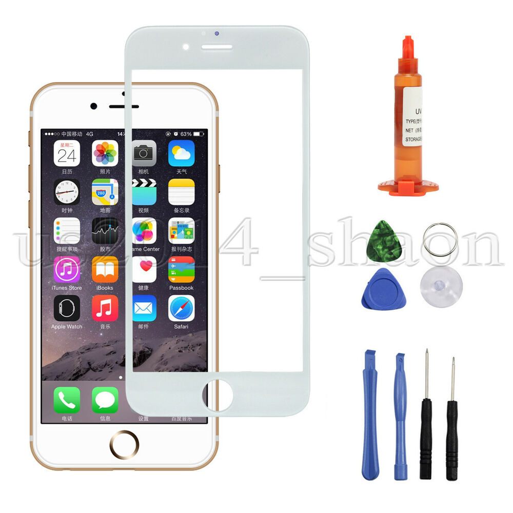 iphone 6 plus replacement glass for iphone 6 plus 5 5 inch front screen glass replacement 17569