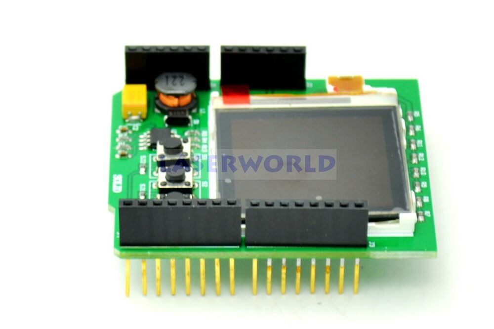 Color image lcd shield for arduino nokia display
