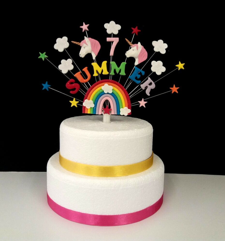 Personalised Name Cake Toppers Uk