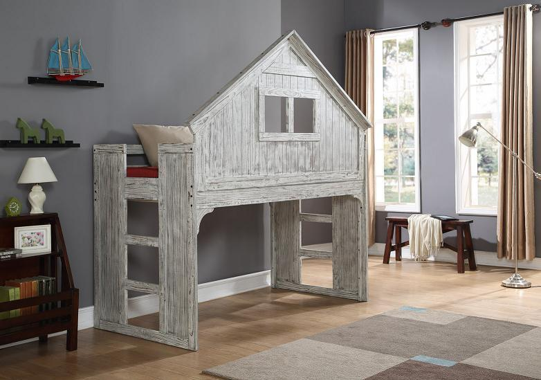 Club House Low Loft Bed