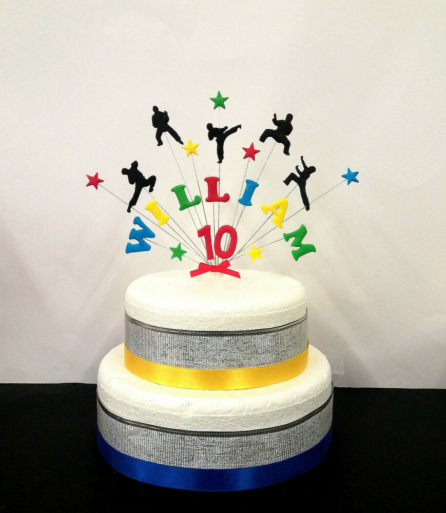 Personalised Age Cake Toppers