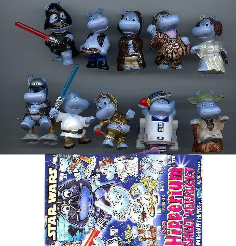 set star wars hippo paper kinder surprise germany 2002 rare ebay. Black Bedroom Furniture Sets. Home Design Ideas