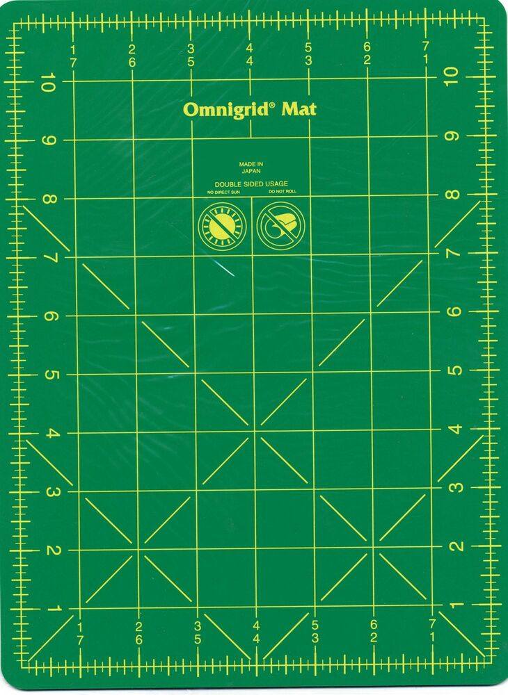 Omnigrid Mat With Grid 8 Quot X 11 Quot For Rotary Quilting 12wg