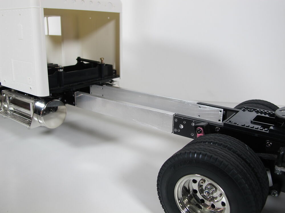 Semi Truck That S Also A Toy Car Holder : Pair aluminum inch frame extension for tamiya rc