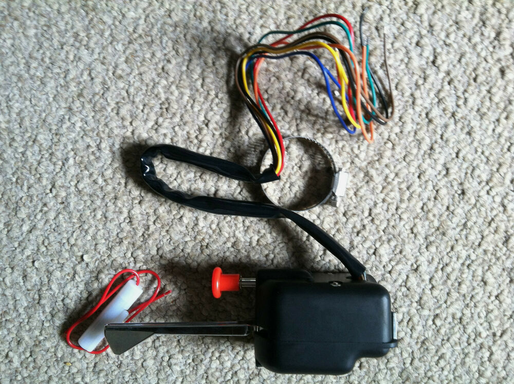 Hot Rod Turn Signals : Black universal turn signal switch hot rod golf cart jeep