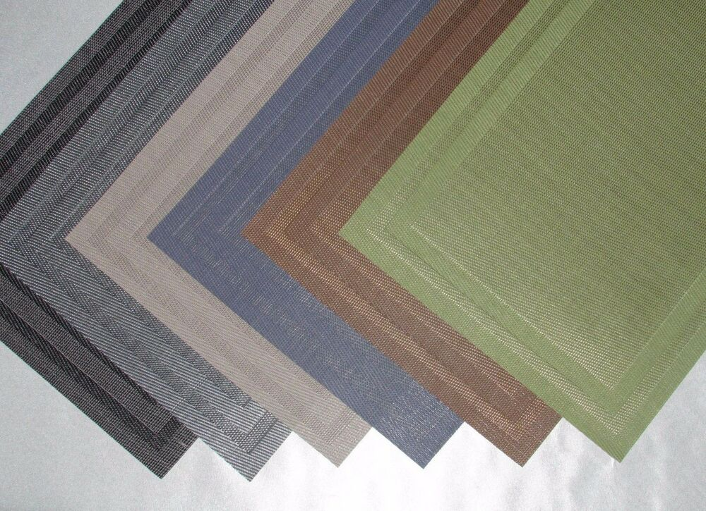 table placemats many colors and designs dining fast shipping ebay