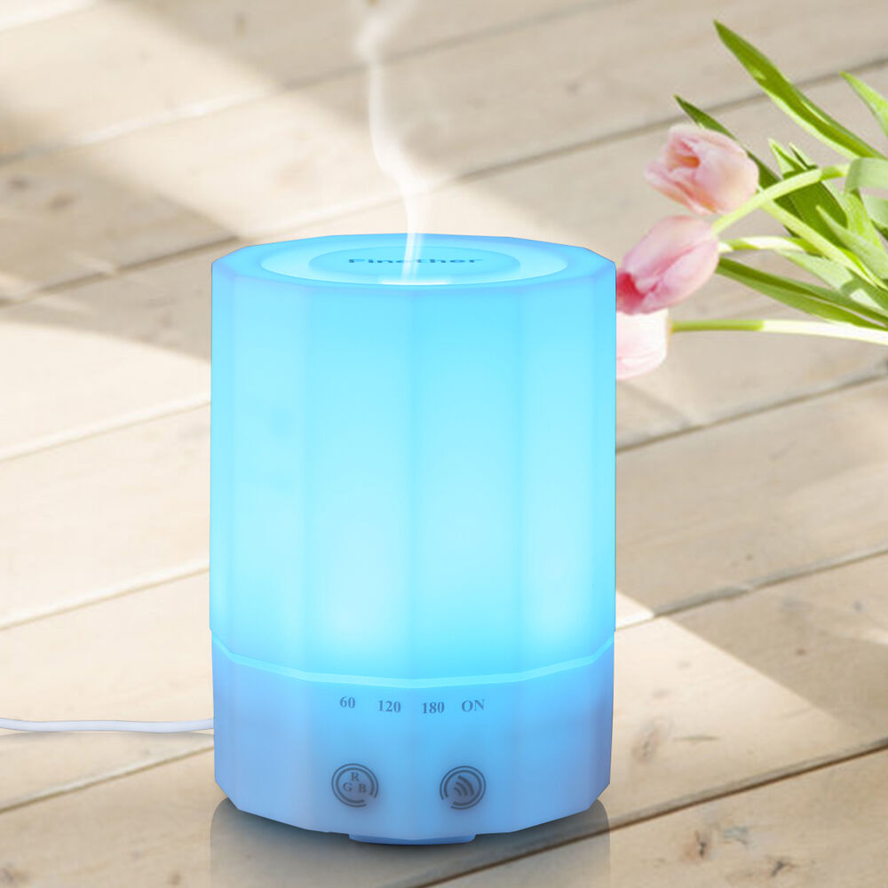 Ultrasonic Oil Diffuser ~ Ml ultrasonic aroma air mist diffuser humidifier
