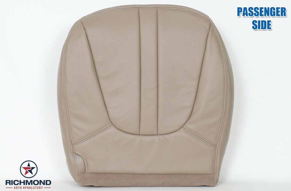 2000 ford expedition eddie bauer passenger side bottom leather seat cover tan ebay. Black Bedroom Furniture Sets. Home Design Ideas