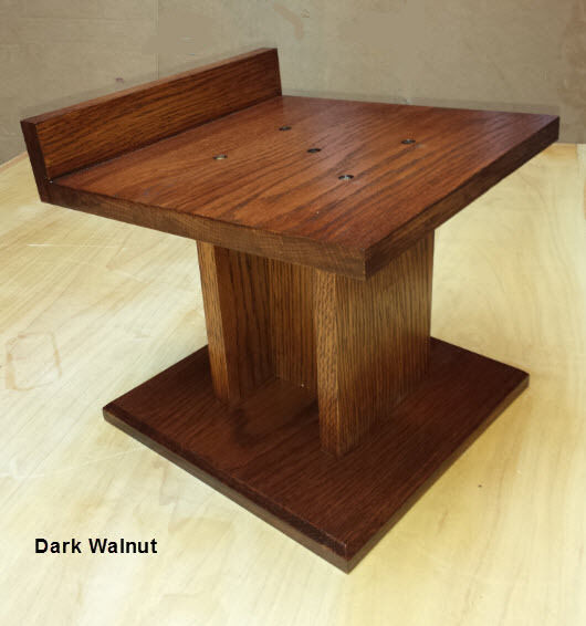 Home Theater Speaker Stands Custom Hand Made Solid Oak Ebay
