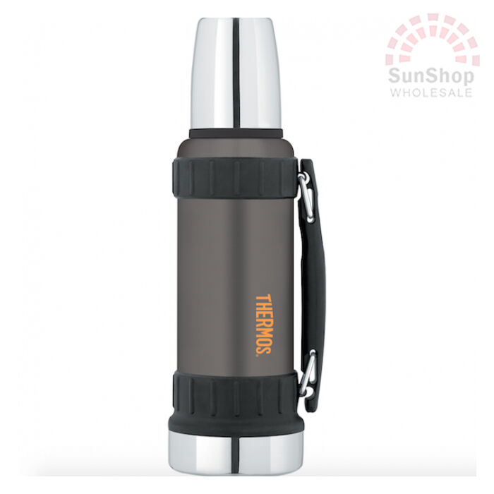 100 genuine thermos work series 1 2 litre vacuum insulated beverage bottle ebay. Black Bedroom Furniture Sets. Home Design Ideas