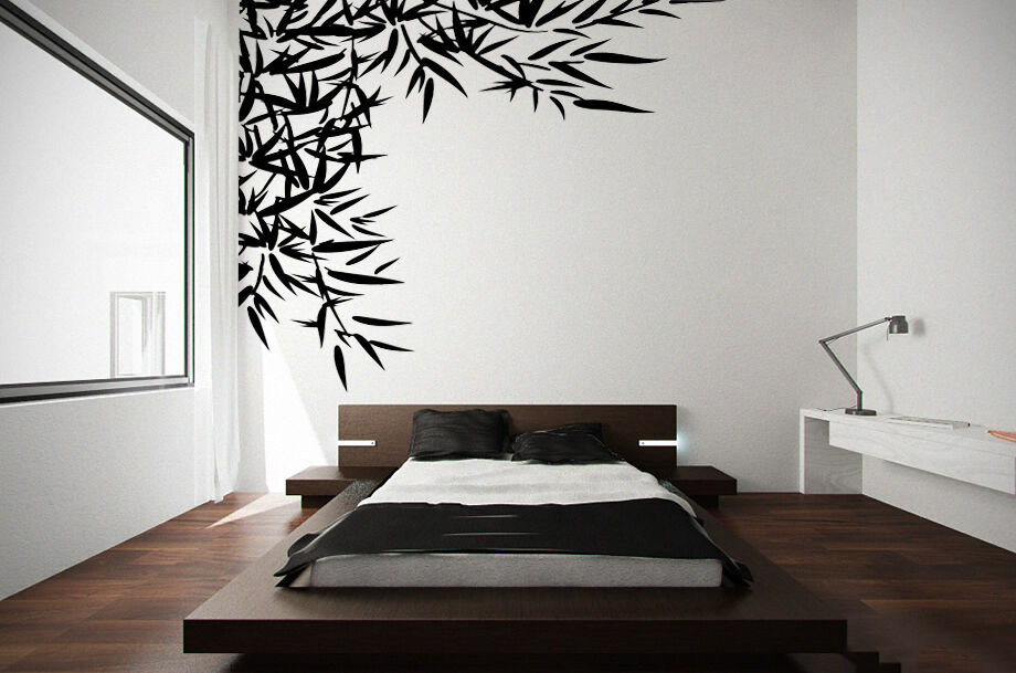 Bamboo Branch Tree Wall Art Decor Decal Home Office
