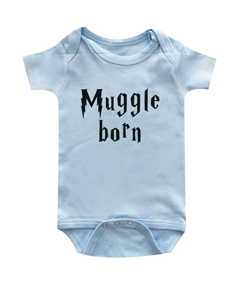 Harry Potter, Muggle Born Funny Baby Clothes, handmade ...