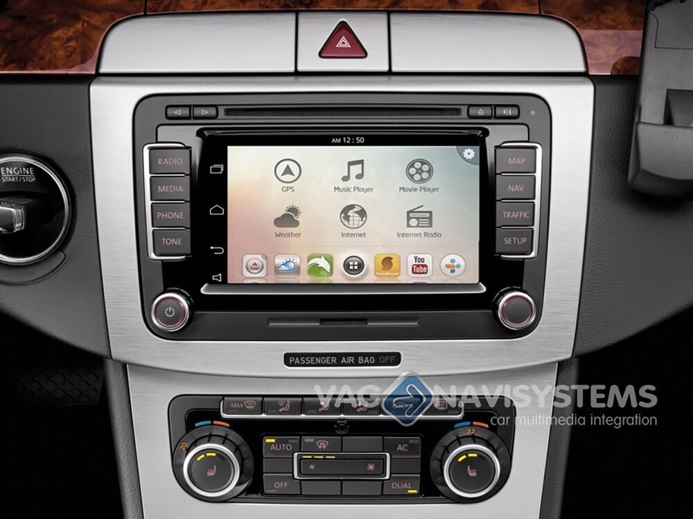 Android Add On Volkswagen Rns 510 Navigation Android Gps Wifi 3g Usb Sd Ebay