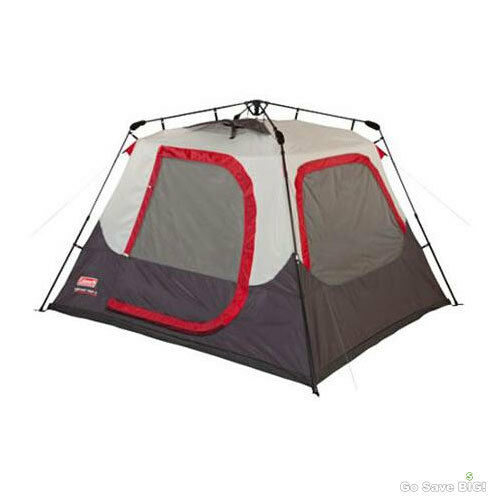4 Person Instant Tent : Coleman instant dome tent person outdoor family