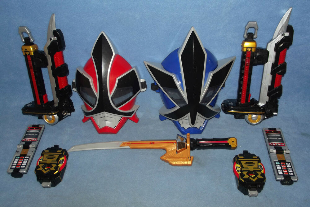 POWER RANGERS SAMURAI MORPHERS AND WEAPONS COLLECTION ...
