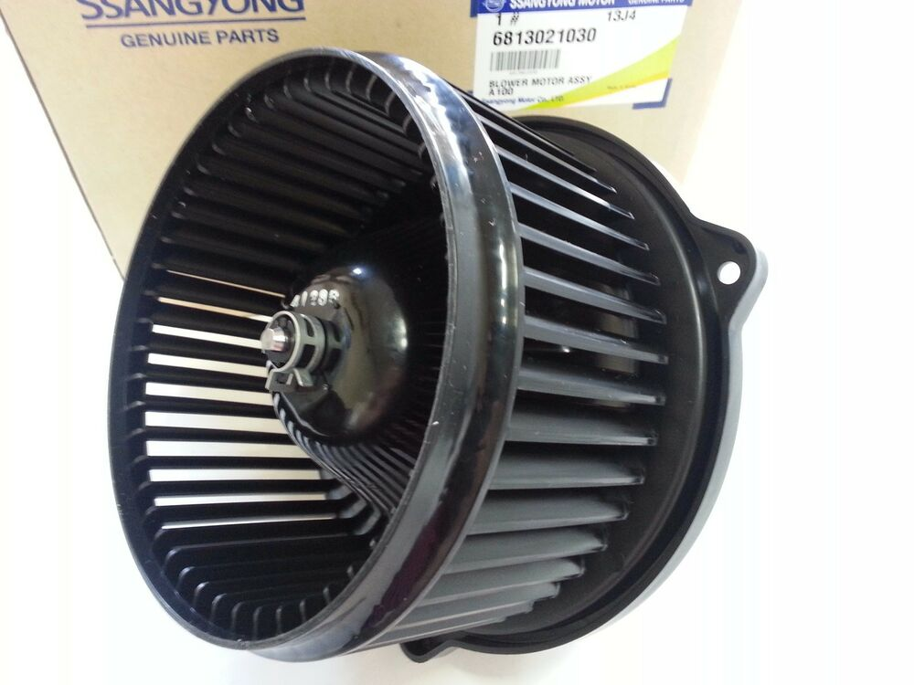 Oem blower motor for auto a c ssangyong rexton rodius for Car ac blower motor
