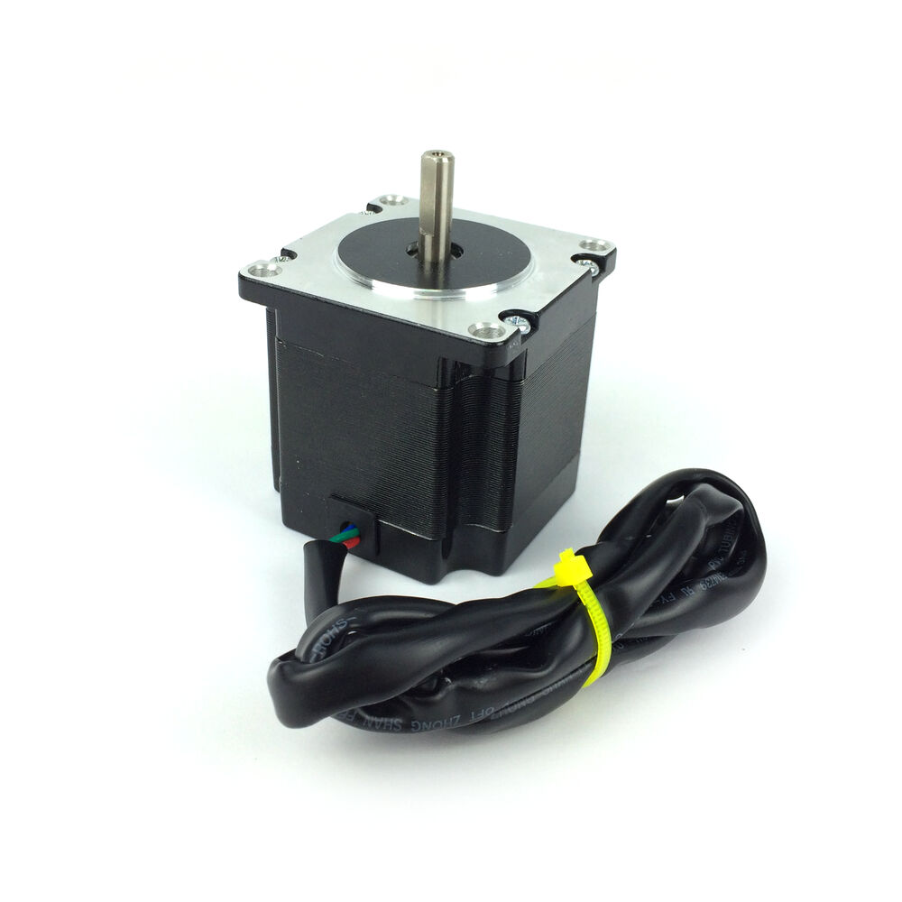 Nema 23 high torque 123 1 8 stepper motor 3d for Nema design b motor