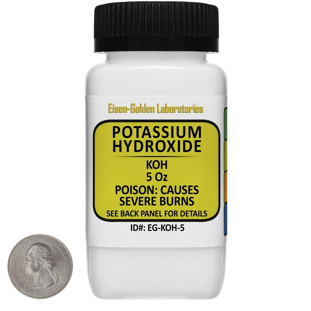 potasium hydroxide lab Experiment 28 determination of the effective ingredient in antacid tablets   standardisation of sodium hydroxide requires a pure solid acid amongst the  most commonly used reagents for this purpose is potassium hydrogen phthalate, .