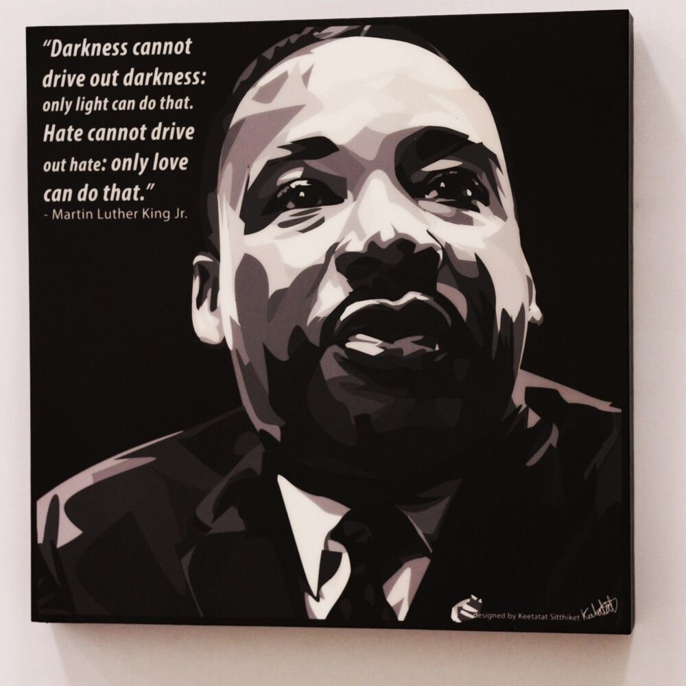 Wall Decals Pop Art : Martin luther king jr canvas quotes wall decals photo