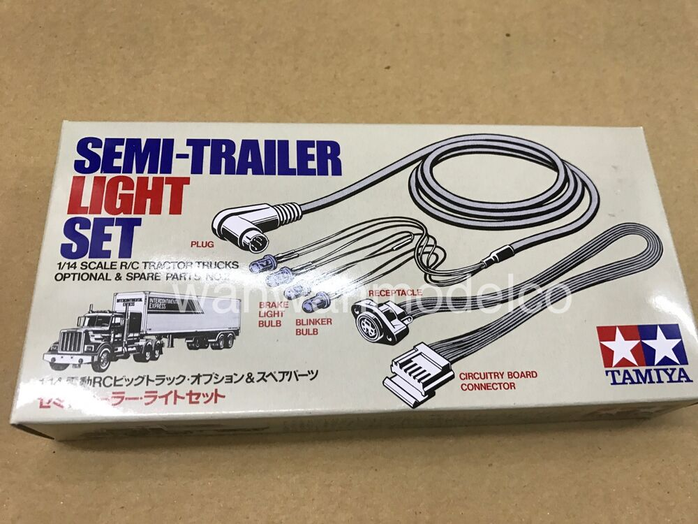 Semi Tractor Trailer Helping Inspect Lights : Tamiya semi trailer light set for r c tractor