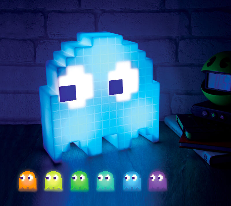 Pac Man Ghost Light USB Powered Pacman Multi Colored Lamp | eBay
