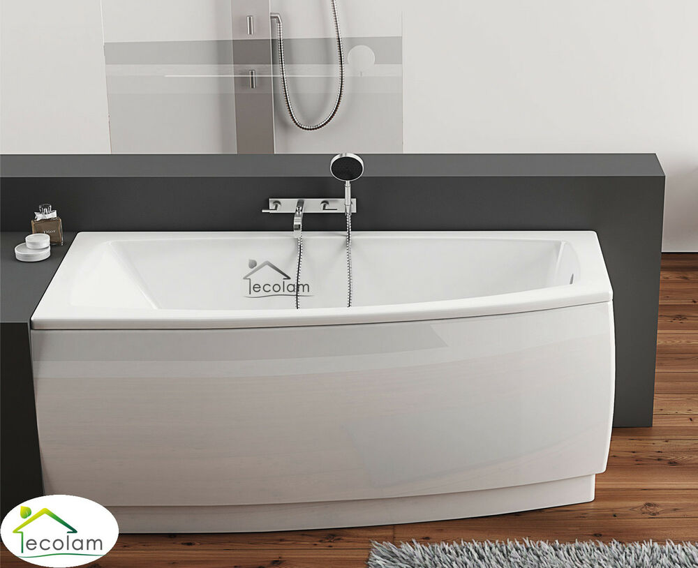 badewanne eckbadewanne wanne 150 x 70 cm ohne mit sch rze ablauf acryl links a a ebay. Black Bedroom Furniture Sets. Home Design Ideas