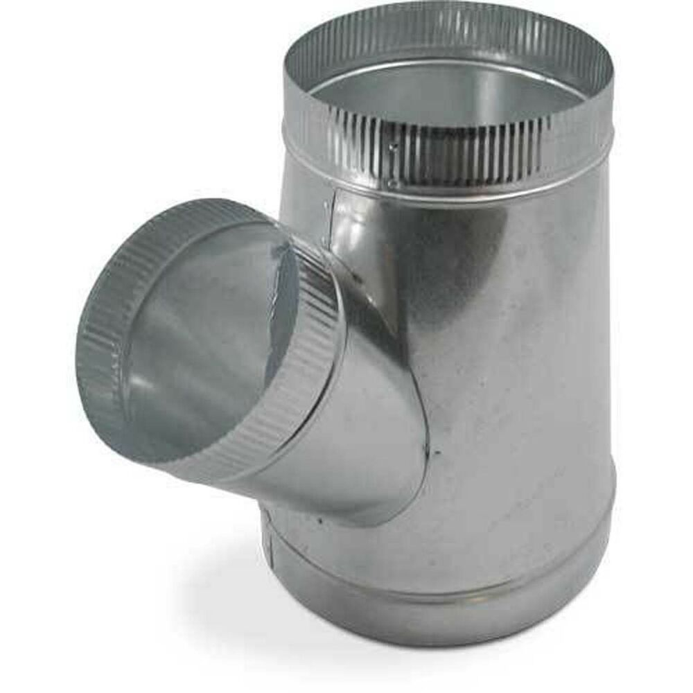 4 In Duct Fittings : X single wall metal wye for connecting duct fittings