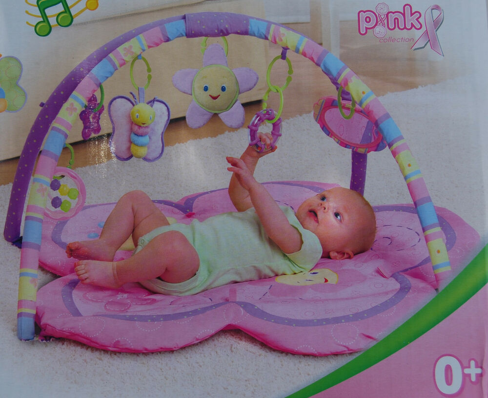 Pinkgymgirl Squishy Collection : Baby Play Mat - Baby Mat - Gym - Pink Girl eBay