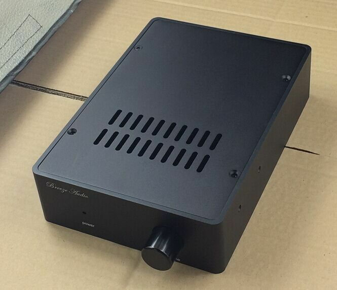 Bz1655 black full aluminum enclosure amplifier case for Chassis aluminium