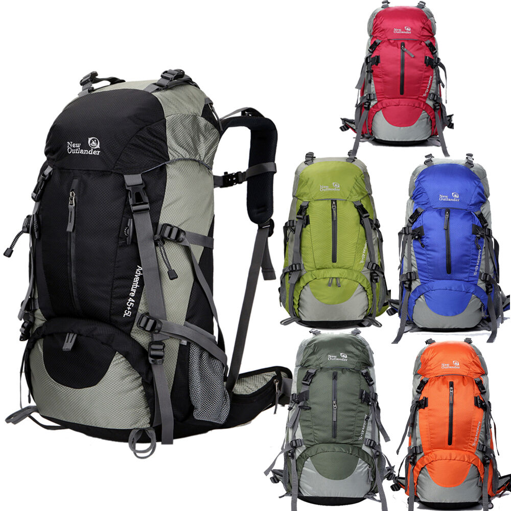 New outdoor backpack rucksack hiking camping pack travel for Outdoor rucksack