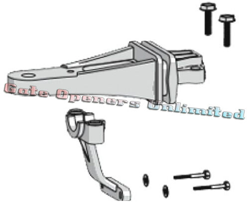 Mighty Mule 502 Replacement Arm : Mighty mule fm parts r grey rear mount kit