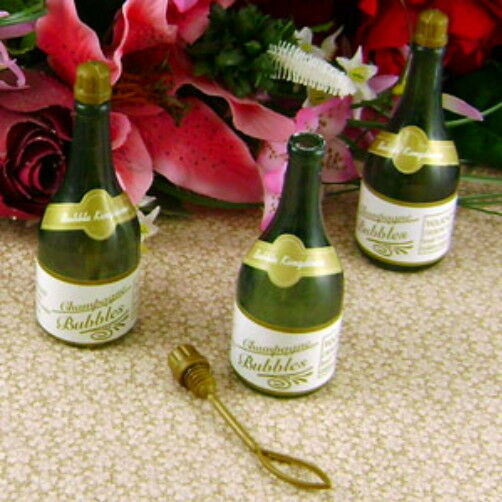 how to make champagne bubble