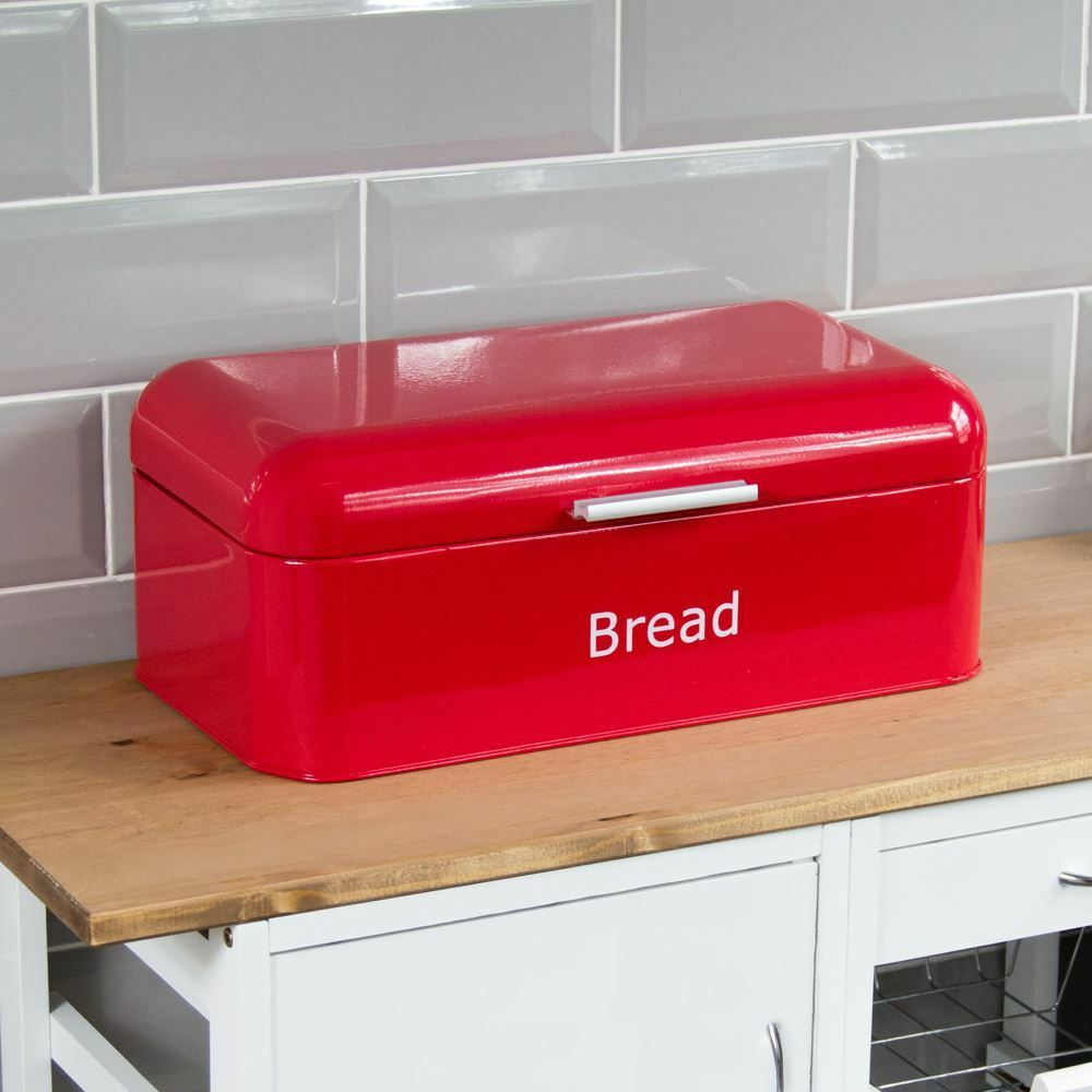 kitchen bread storage curved bread bin steel kitchen top storage loaf box 2329