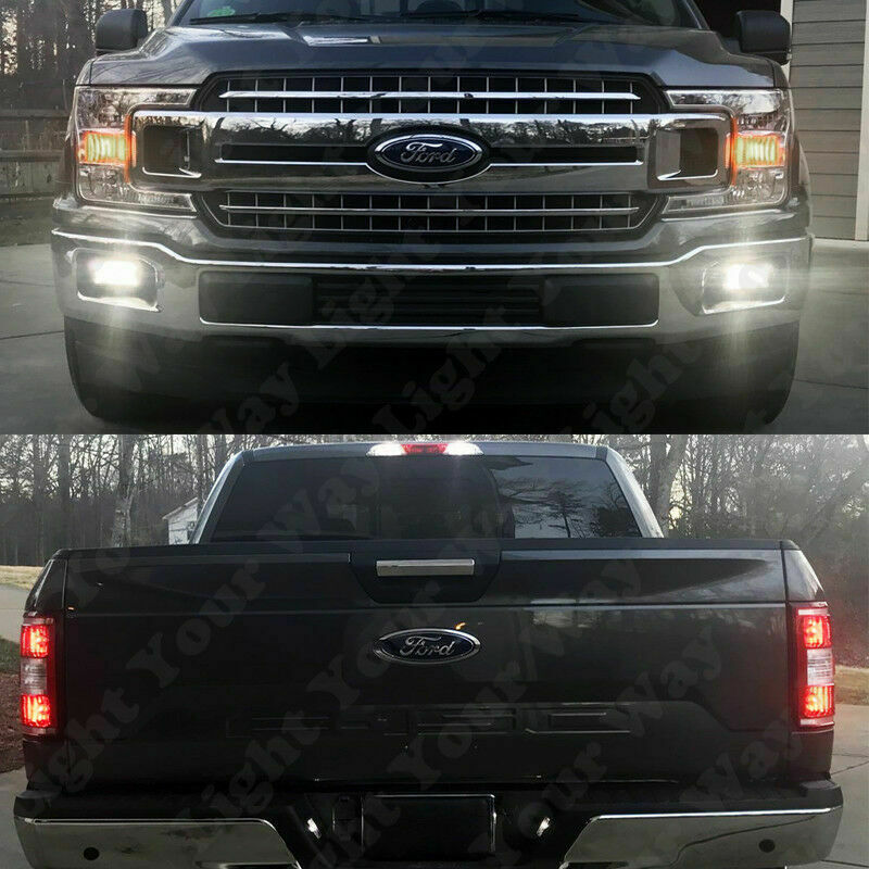 8 x 6000k xenon white led exterior lights kit for 2015 2016 2017 f150 ebay for Ford f 150 exterior accessories