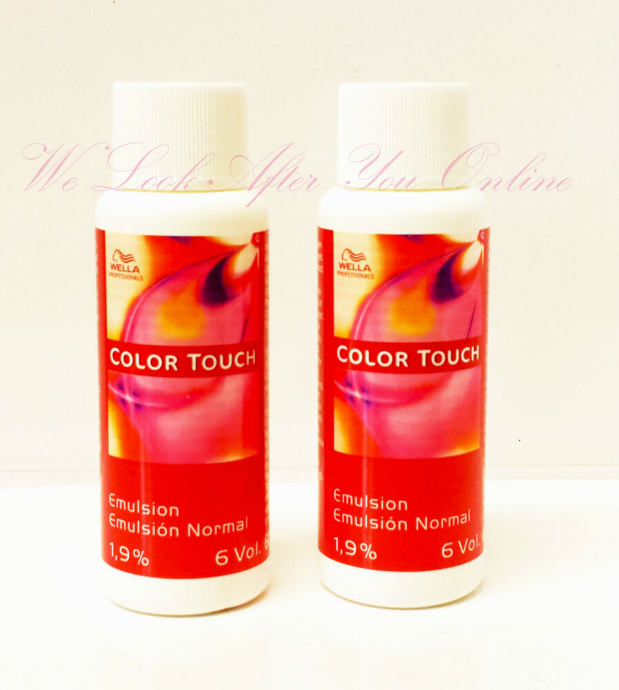 wella color touch emulsion lotion 60ml 1 9 6vol or. Black Bedroom Furniture Sets. Home Design Ideas