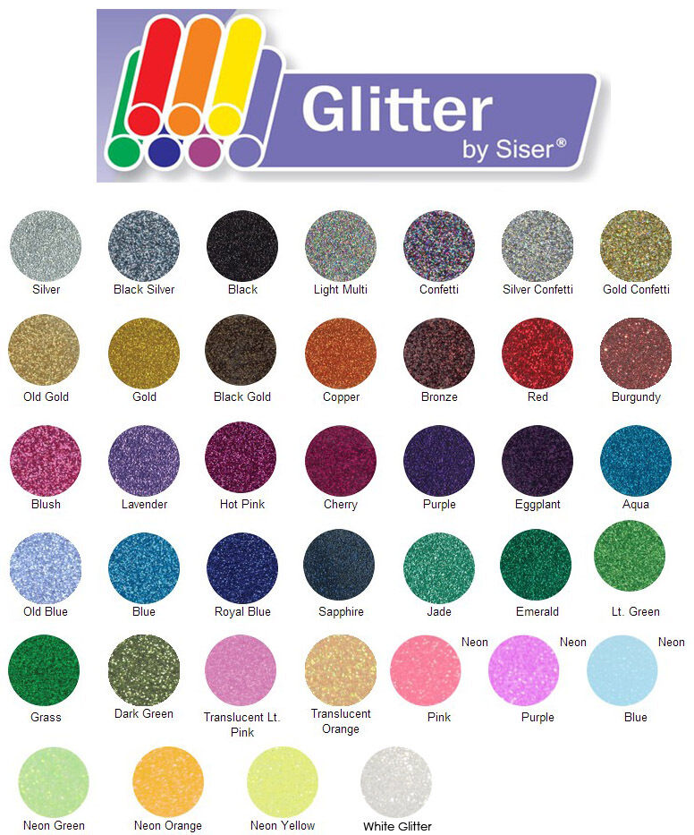 Explore Using Siser Glitter Iron On Heat Transfer Vinyl